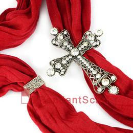 10PCS LOT, Top Popular Jewellery Scarf Magnet Accessories Zinc Alloy Shine Rhinestone Magnetic Cross Pendant, Free Shipping, AC0220
