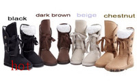 Wholesale 2013 hot Fashion Women Girls Winter Warm Snow Boots Shoes color full size