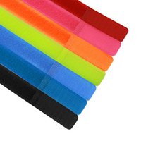 Wholesale 20 mm Mixed Color Nylon Cable Ties Velcro Straps for Organizing Cables and Wires