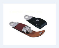 Wholesale 2013 new orange leather Genuine GB GB USB Memory Stick Flash Pen Drive for C9L47PA p B8Z44PA s