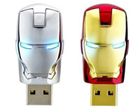 Wholesale GB GB thumb drive usb flash drive Plastic Marvel Iron man for A9D77PA dv4 a04TX C5G85PA