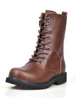 Wholesale Lace Up Cowhide Men boot u7 bI