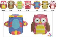 Girl PU Backpacks NADO multifunction cartoon baby bag small bag Messenger bag shoulder bag shoulder bag chest 5pcs lot