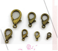 Alloy high quality material Clasps & Hooks free shipping metal alloy Lobster Clasp nickel plating hooks jewelry finding bracelet necklace keychain DIY material