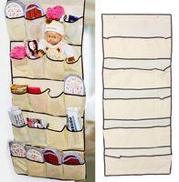 Wholesale Door Shoe Storage Organizer Hanging Bag Closet Holder Hanger Organiser