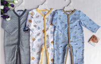 baby boy sleepers - Baby boys cotton Bodysuits Romper sleeper pjs pajamas pcslot