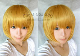 Wholesale Attack on Titan Armin Arlert Short Dark Blonde Cosplay Anime Wig