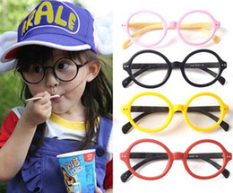 Wholesale Candy Child Spectacle Frames Girls Spectacle Frames Baby Glasses Frames Kids Harry Potter Round Glasses Frames B0481