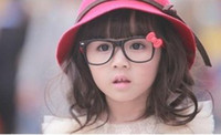 Wholesale Children s Bowknot Sunglasses Frames Baby Glass Frames Child Sun Mirror For Girls Eyeglass Kids Cute Spectacle B0483