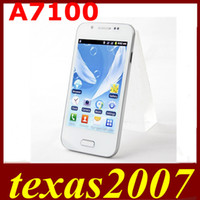 Wholesale 4 inch Android Smart Phone A7100 Wifi Dual Sim Capacitive Touch Screen MTK6515 goophone i5