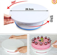 Wholesale Fondant Cake Turntable Modelling Sugar Paste Smoother Stander Tools