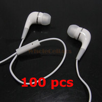 Wholesale Stereo mm Headphone InEar Earphone With Mic Remote for Ipod Touch Classic GB Iphone4 Ipad Headsets by DHL