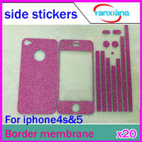 Wholesale CHpostfor iPhone border post color film side of mobile phone stickers affixed to the frame RW L11