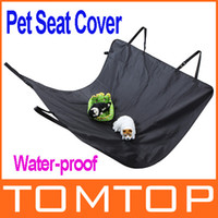 Wholesale High Quality Water proof Pet Car Seat Cover Dog Cat Safe Safety Travel Hammock Mat Blanket Black Freeshipping H9496B