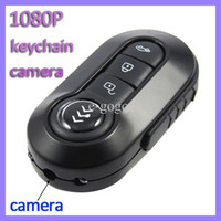Wholesale K1 spy car keys remote control car keychain camera HD P video recorder motion dectection camcorder night vision
