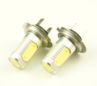 Wholesale H7 W Xenon White LED Fog Light Bulb Headling lights Lamp High power for Auto Cars