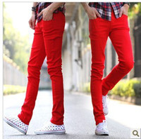 Wholesale Red Skinny Jeans Male - Buy Cheap Red Skinny Jeans Male ...
