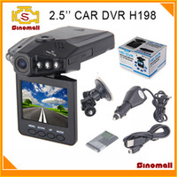Wholesale Portable Car DVR with quot TFT LCD Degree Rotating Screen HD display Camcorder Night Vision by DHL