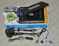 Wholesale Portable inch DVD EVD player with TV MP3 Mp4 game new design with retail box set DK2205