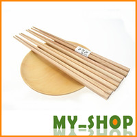 Wholesale Chops Sticks Wood Dutch Minimalist Home Bare Wooden Chopsticks Free Shiping Flatware Accessories JJ0044