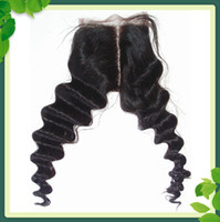 Beauty 4*4 inch Middle Part Lace Top Closures Brazilian Hair...