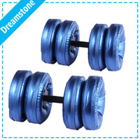 Wholesale New Body Building Product Adjustable Water Filled Dumbbells for sale pair with RoHs approval