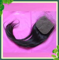 Top Quality Silk Top Closure Straight Malaysian Virgin Hair ...