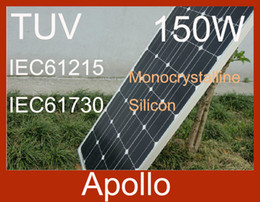 Wholesale Solar Panel Module W Monocrystalline Silicon Photovoltaic Moudle Panels Solar Cells DIY Grand A Waterproof Power Generating System