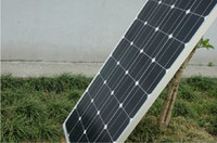100W панель солнечных батарей Модуль монокристаллического кремния фотоэлектрические панели солнечных батарей DIY Гранд образующая система Водонепроницаемая питания
