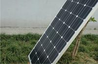 al por mayor silicio w-100W Solar Panel Module Paneles Fotovoltaicos De Silicio Monocristalino Células Solares DIY Grand Un Sistema De Generación De Energía Impermeable