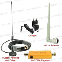 3g signal booster - Up to Square Meter WCDMA MHz G RF Repater Mobile Phone Signal Booster Amplifer Repeater Set LLY125