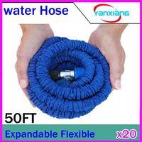 Cheap DHL 20PCS Hose Durable Flexible Dual-layer Water Tube Pocket Garden 50FT RW-WH-02