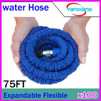Cheap DHL 100PCS Expandable & Flexible Water Garden Hose, pandable Expandable Watering 75FT RW-WH-03