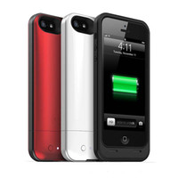 Wholesale AAAAA Best PACK AIR mAh External Backup Battery Case for iPhone G EMS