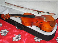 Wholesale NEW VIOLIN FULLSize with Case BOW High quality Adults Violin Pine panel