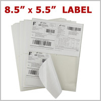 Wholesale UPS sheets Labels x5 Premium Shipping Labels x5 Half Sheet Self
