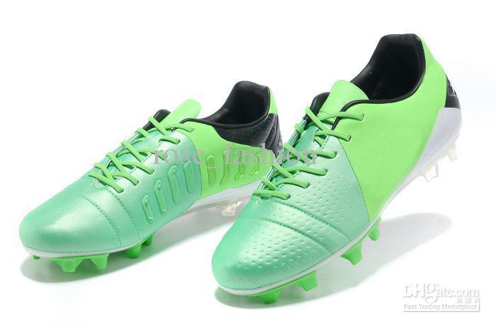 2017 Wholesale Men S Firm Ground Soccer Shoes Mint/Black/Lime ...