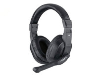 Wholesale Brand New stereo computer headphone game headset earphones CT