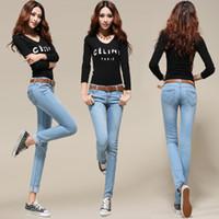 Skinny,Slim designer casual jeans - Hot Fashion sexy lady jean women s jean Skinny jean Slim capris cheap jeans for women denim jeans designer jean casual girl jean long jeans