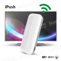 Wholesale IPUSH D2 Multi Media Wi Fi DLNA Display Receiver for Android iOS