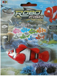 Novelty Electronic Swimming Fish Magical 4 Styles Robo fish Activated Turbot electric Fish Christmas Kids Toys