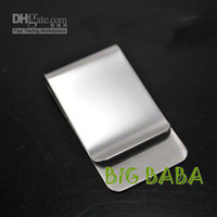 Wholesale stainless steel money clip fashion money clip Hotsale money clip High quality stainless st