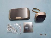 anti security camera - Mini Slim Bright quot LCD Digital Door Viewer Peephole Camera Video Photo DVR Anti pry Home Security H090