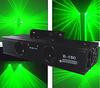 DMX512 Control two shoot beam Many kinds of pictorial effect Green animation laser light ,free shipping