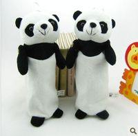 Wholesale New Cute Cartoon Panda Student Bag Women Money Coin Bag Plush Coin Case