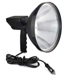 Wholesale 55W HID inch handheld spotlight for agriculture hunting camping boating safety rescue mission emergency lighting Q2015A