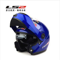 Wholesale ECE DOT LS2 FF370 Blue modular undrape face helmet Full Face Helmet with composite materials plus free gift Wind Dust Protection Goggle