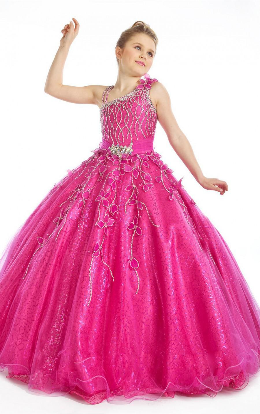 Fashion New Style Girl Kids Pageant Bridesmaid Dance Party ...