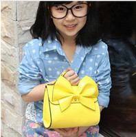 bag packet - PU bag retro candy colored girls packet Children Children s fashion handbag leisure bag handbag