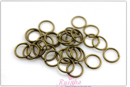 free shipping wholesale antique brass connect ring jewelry finding bracelet necklace key chain circle DIY material